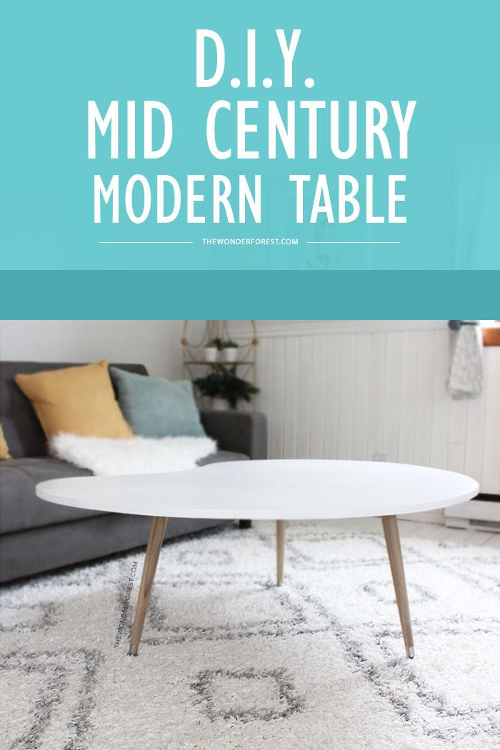Best ideas about DIY Mid Century Modern Coffee Table . Save or Pin DIY Mid Century Modern Coffee Table Under $50 Now.