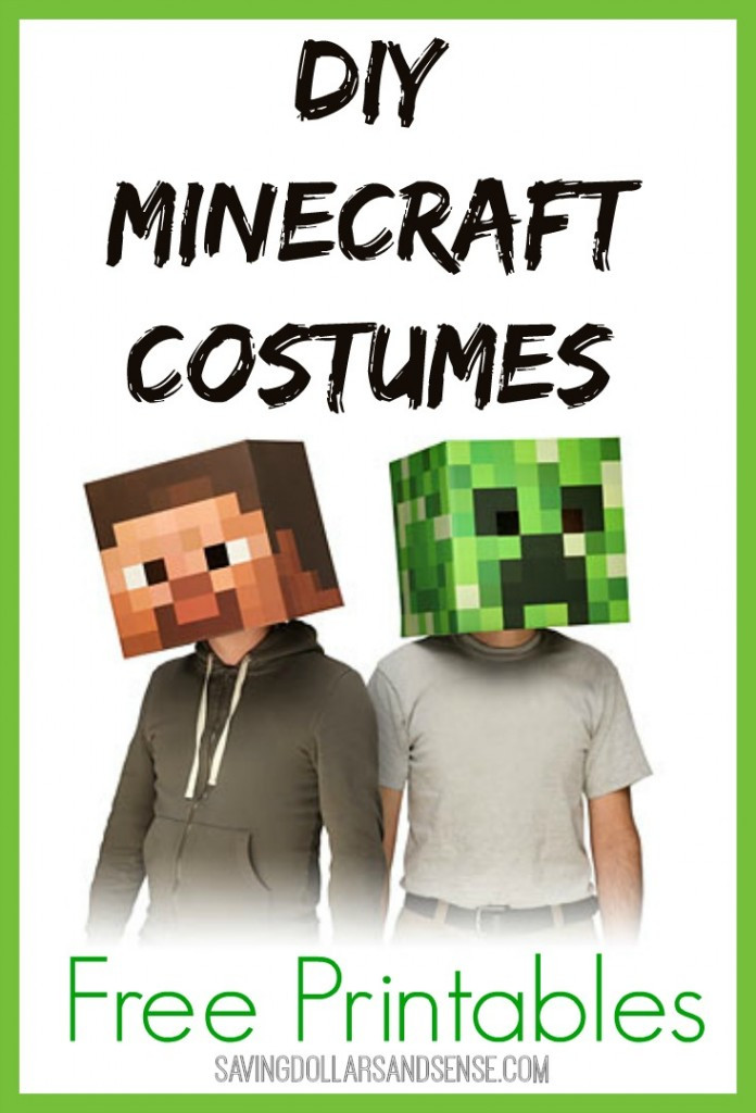 Best ideas about DIY Minecraft Costume . Save or Pin Homemade Minecraft Costume Ideas Now.
