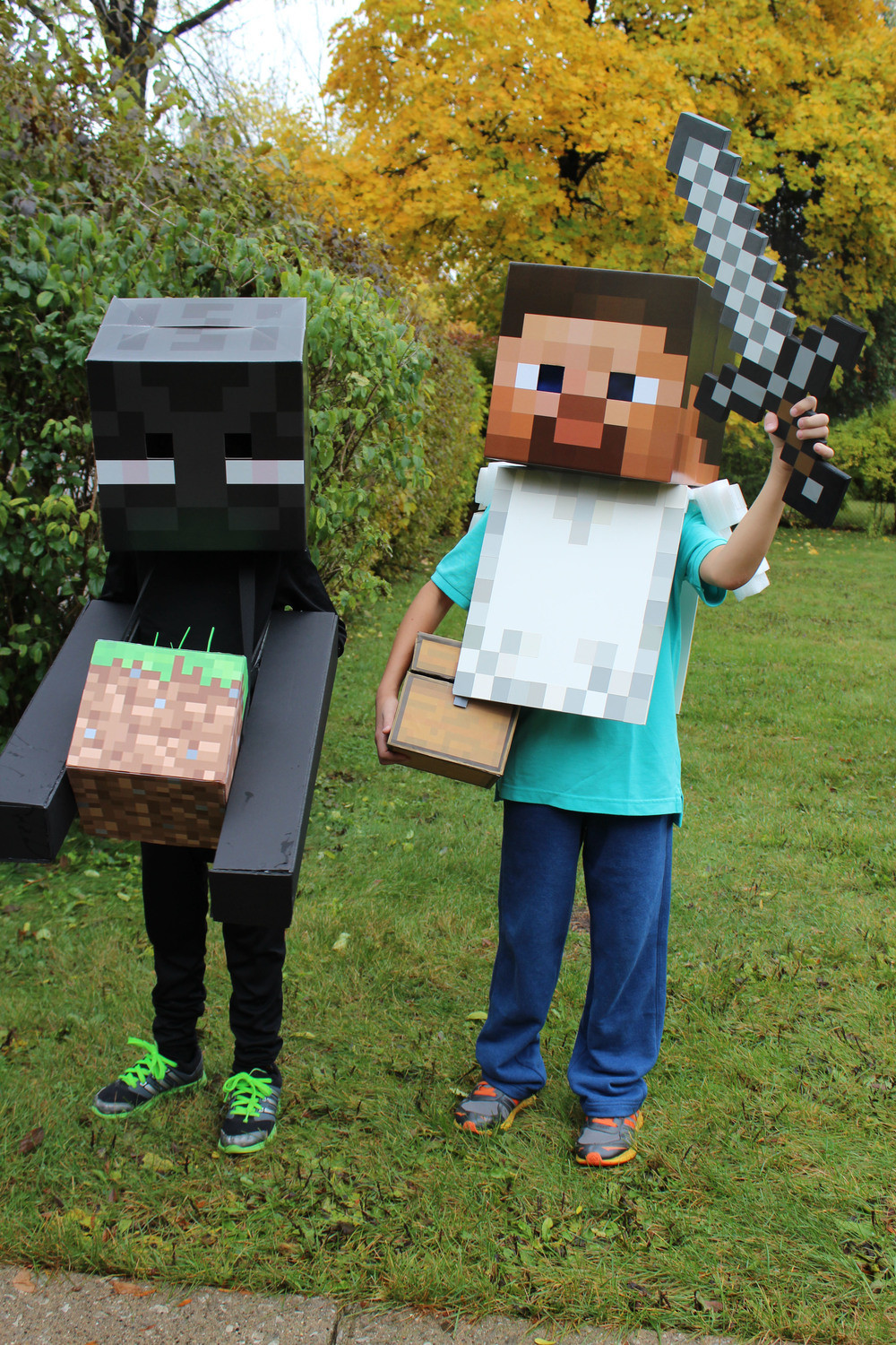 Best ideas about DIY Minecraft Costume . Save or Pin DIY Costumes — Renee Leone Studio Now.