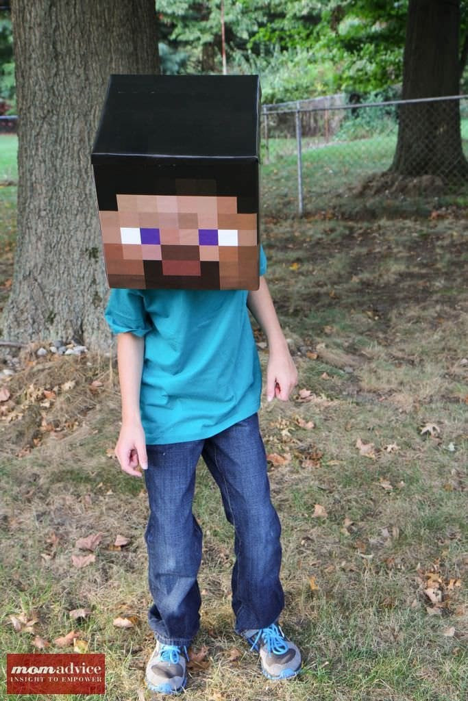 Best ideas about DIY Minecraft Costume . Save or Pin DIY Minecraft Costume Ideas MomAdvice Now.