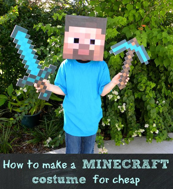 Best ideas about DIY Minecraft Costume . Save or Pin Minecraft and Kostuums on Pinterest Now.