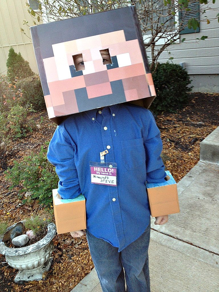 Best ideas about DIY Minecraft Costume . Save or Pin 15 Coolest DIY Halloween Boys Costumes – Part 2 Now.