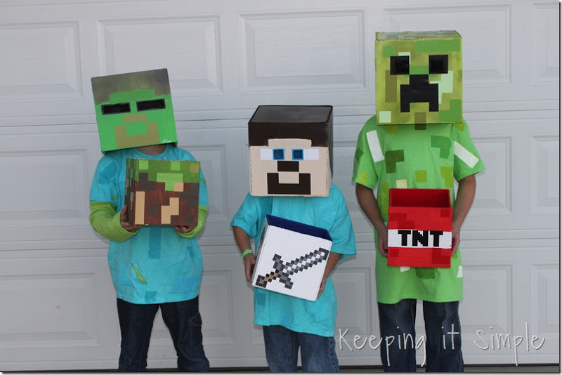 20 Ideas For Diy Minecraft Creeper Costume Best