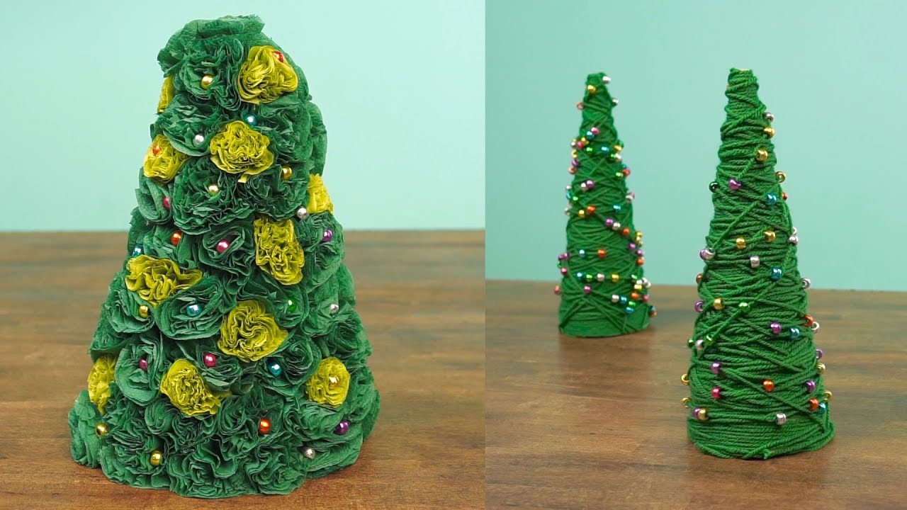 Best ideas about DIY Mini Christmas Trees . Save or Pin 2 Miniature Christmas Tree Caft DIY Projects Now.