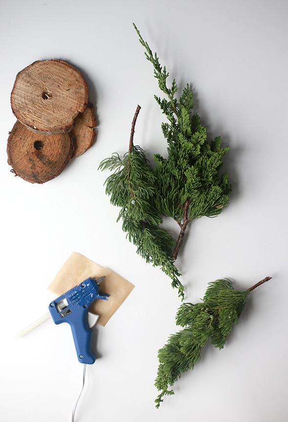 Best ideas about DIY Mini Christmas Trees . Save or Pin DIY Fresh Mini Christmas Trees from Tree Lot Scraps Now.