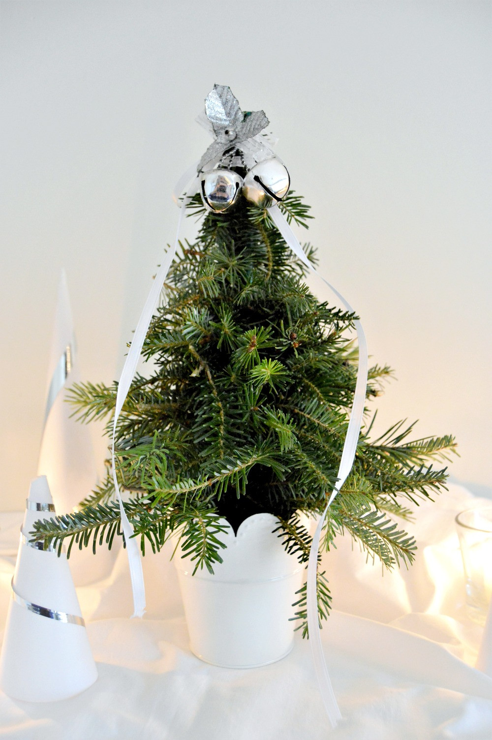 Best ideas about DIY Mini Christmas Trees . Save or Pin DIY Mini Christmas Tree From Clippings Mom in Music City Now.