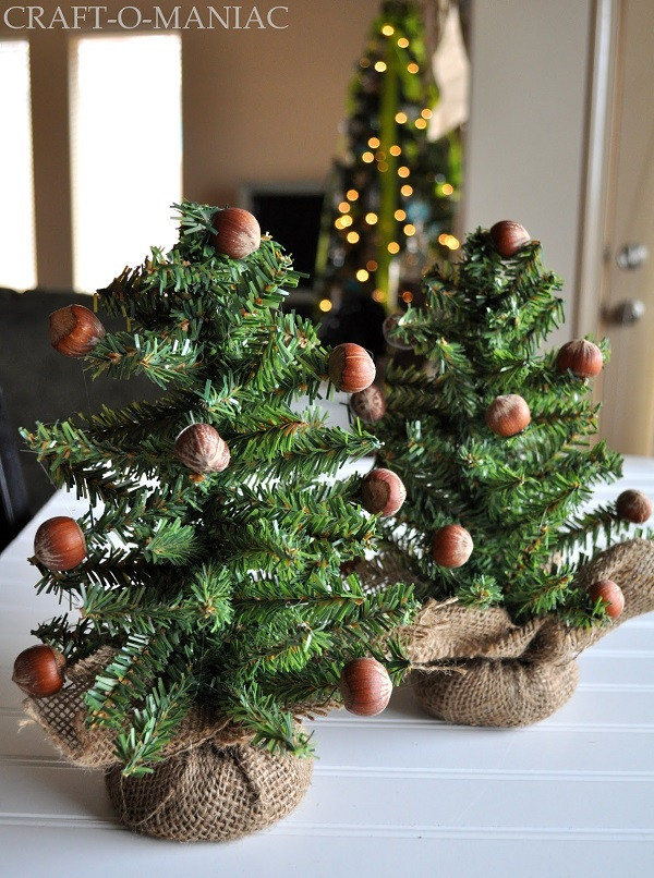 Best ideas about DIY Mini Christmas Trees . Save or Pin DIY Mini Christmas Trees Can Make The Best Alternative Now.