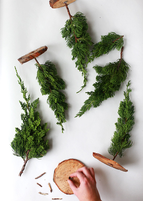 Best ideas about DIY Mini Christmas Trees . Save or Pin DIY Mini Christmas Trees from Tree Lot Scraps Now.