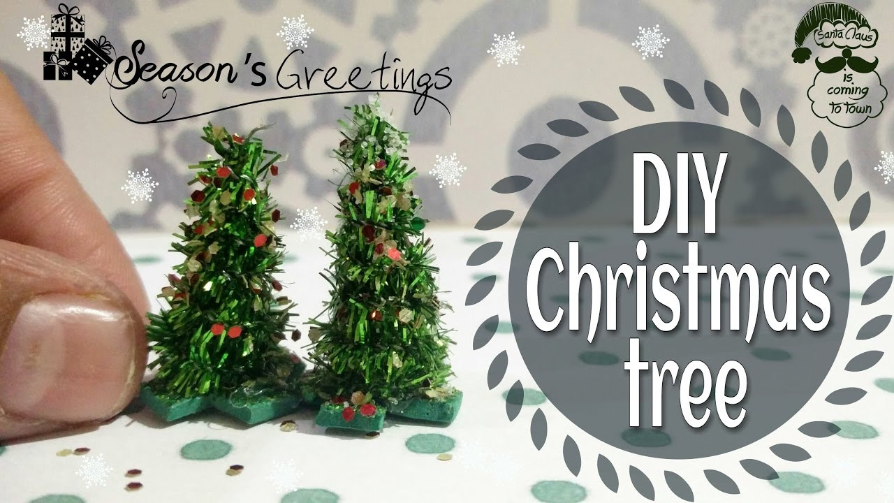 Best ideas about DIY Mini Christmas Trees . Save or Pin DIY miniature Christmas tree Xmas tree for kids Christmas Now.