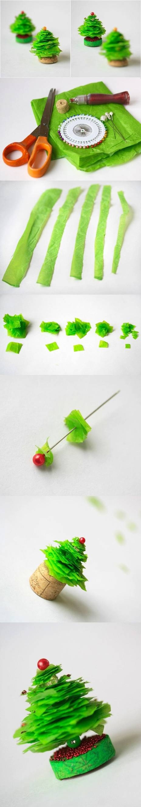 Best ideas about DIY Mini Christmas Trees . Save or Pin DIY Mini Christmas Tree Craft Tutorial s Now.