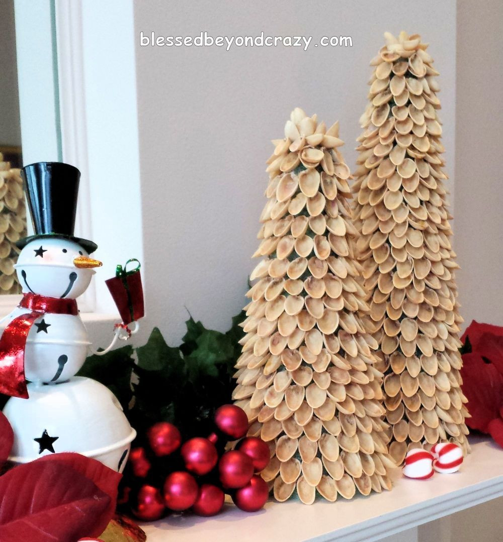 Best ideas about DIY Mini Christmas Trees . Save or Pin DIY Mini Pistachio Christmas Trees Now.
