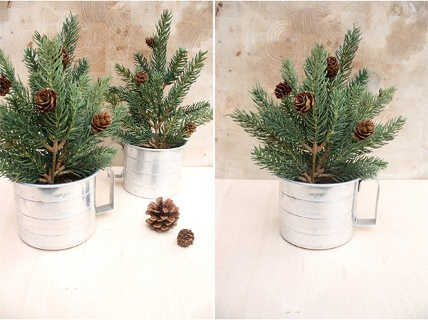 Best ideas about DIY Mini Christmas Trees . Save or Pin DIY Mini Christmas Timber Can Make The Greatest Various Now.