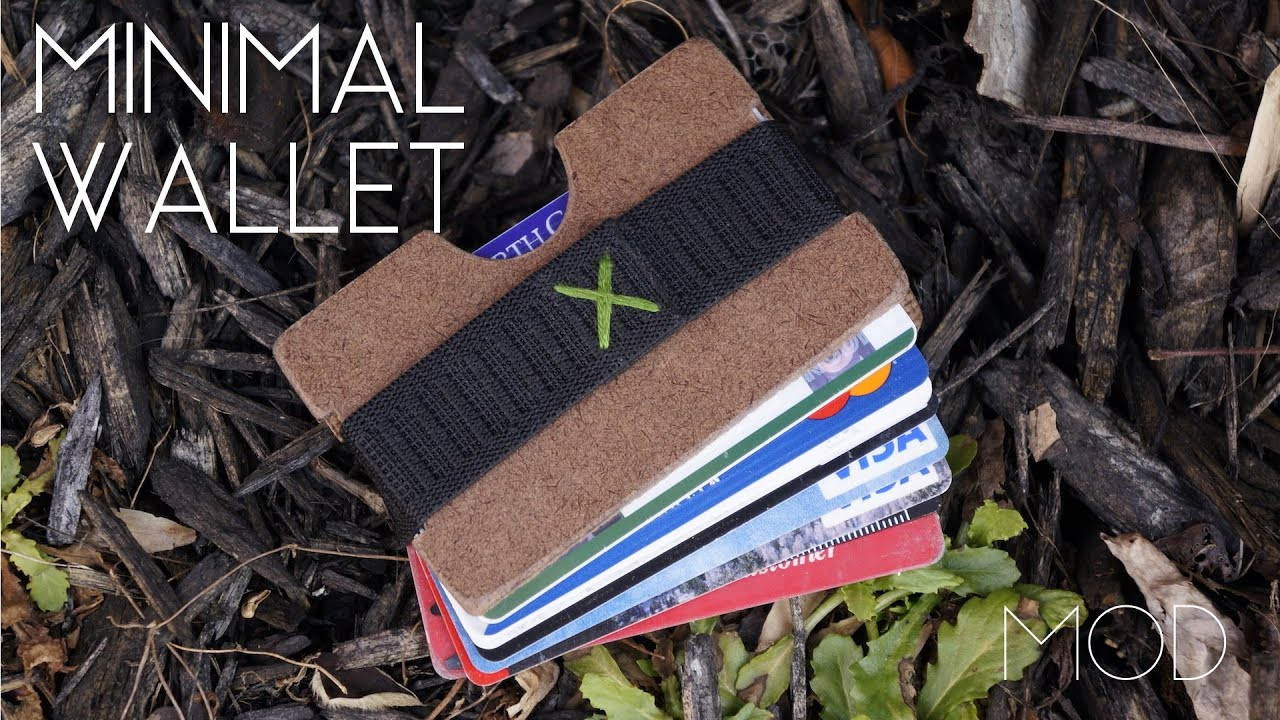 Best ideas about DIY Minimalist Wallet . Save or Pin Mini MOD Monday DIY Minimalist Wallet Now.
