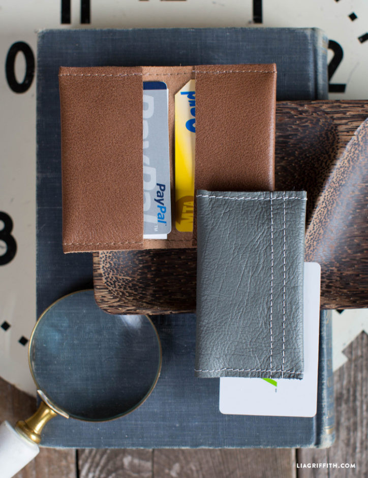 Best ideas about DIY Minimalist Wallet . Save or Pin Minimalist Leather Wallet Lia Griffith Now.