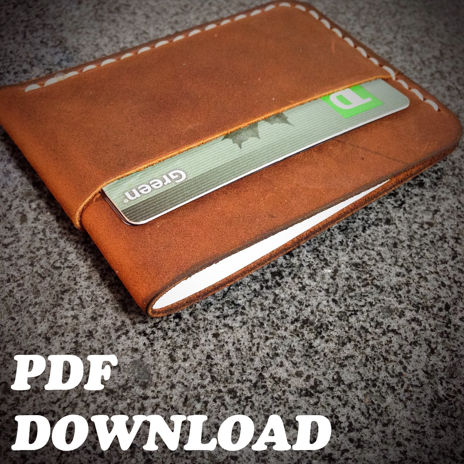 Best ideas about DIY Minimalist Wallet . Save or Pin PATTERN Leather Minimalist Wallet Pattern Leathercraft Now.