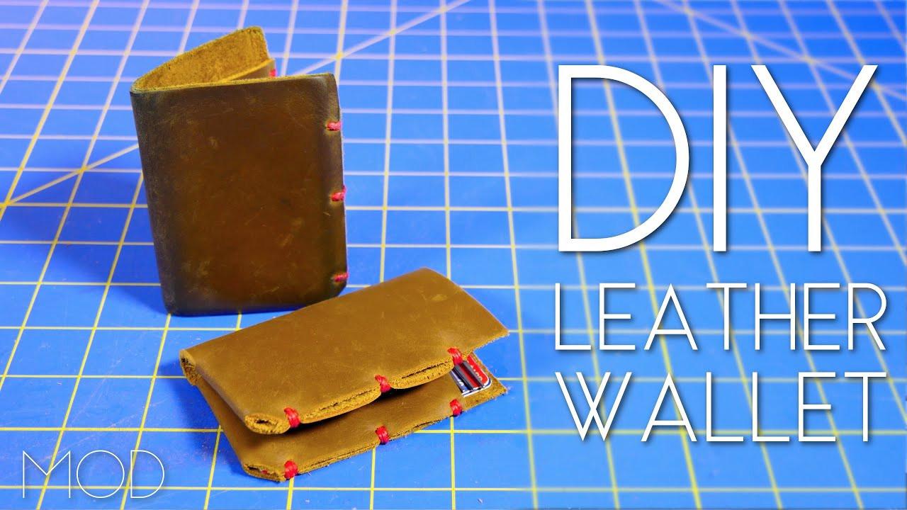 Best ideas about DIY Minimalist Wallet . Save or Pin DIY Minimalist Leather Wallet – Mini MOD 42 Now.