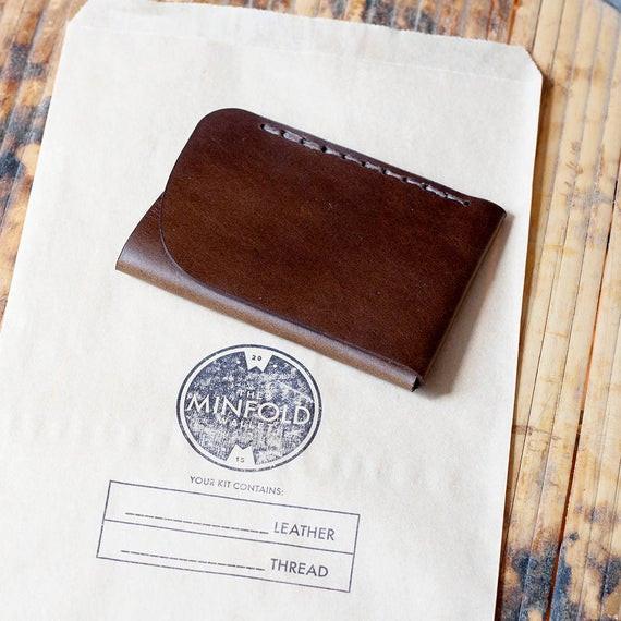 Best ideas about DIY Minimalist Wallet . Save or Pin DIY Leathercraft Kit Minimalist Leather Wallet Kit Now.