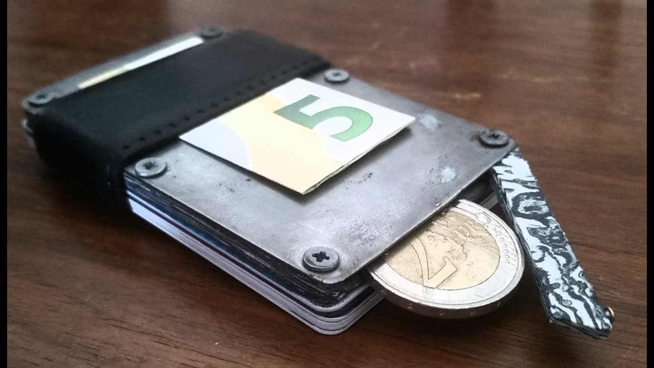 Best ideas about DIY Minimalist Wallet . Save or Pin Homemade Minimalist Wallet Now.