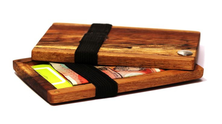 Best ideas about DIY Minimalist Wallet . Save or Pin DIY minimalist wood wallet Made from reclaimed pallet Now.