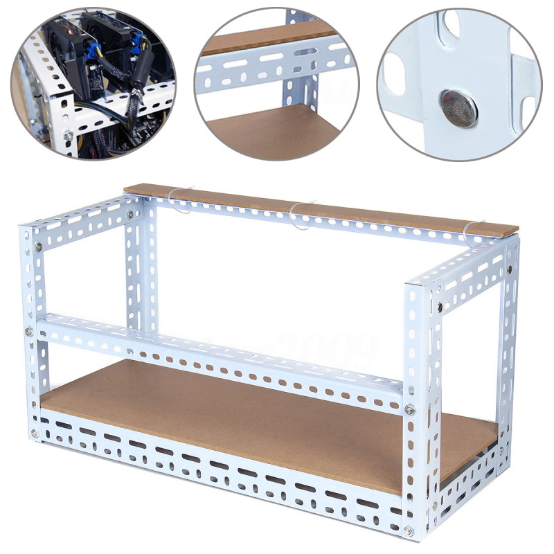 Best ideas about DIY Mining Rig Frame . Save or Pin Other Gad s DIY Aluminum Frame Mining Rig Frame For 6 Now.