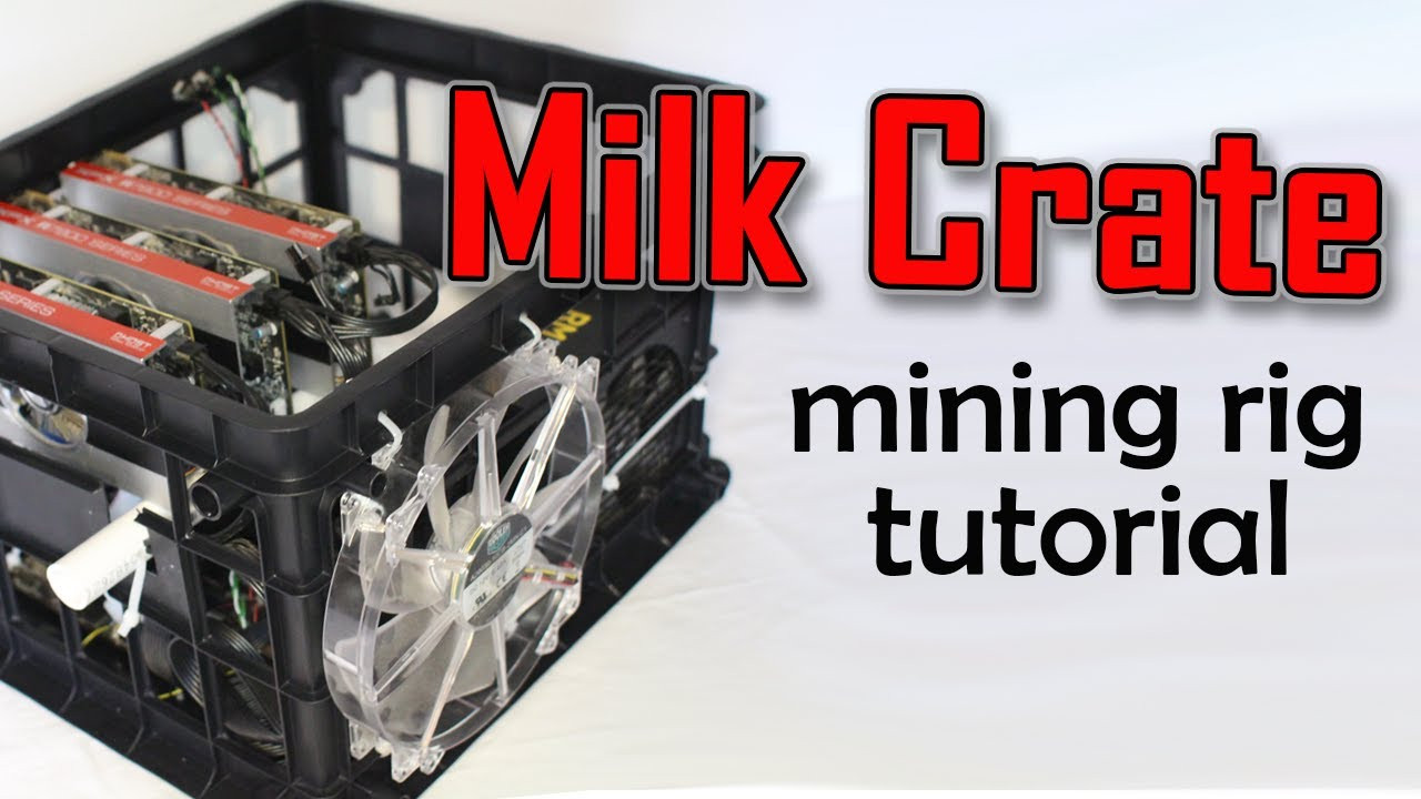 Best ideas about DIY Mining Rig Frame . Save or Pin How to Build a Milk Crate Mining Rig Tutorial Now.