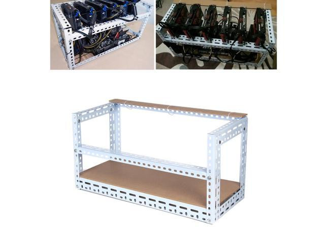 Best ideas about DIY Mining Rig Frame . Save or Pin Steel Crypto Coin Open Air Mining Frame Shelf Rig Case DIY Now.