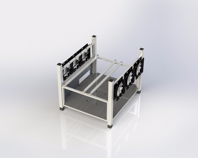 Best ideas about DIY Mining Rig Frame . Save or Pin Aliexpress Buy 6 GPU Open Air Mining Case puter Now.