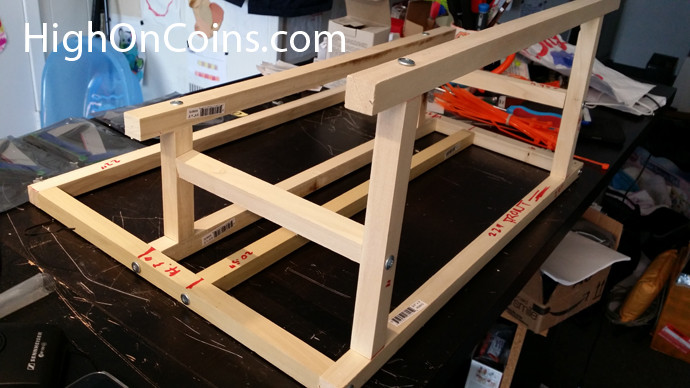 Best ideas about DIY Mining Rig Frame . Save or Pin How to Make DIY Wooden Frame for Litecoin Dogecoin Rig Now.