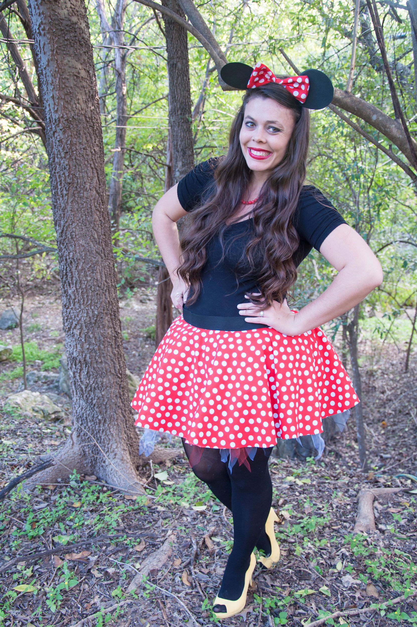 Best ideas about DIY Minnie Mouse Costume . Save or Pin DIY Costume Now.