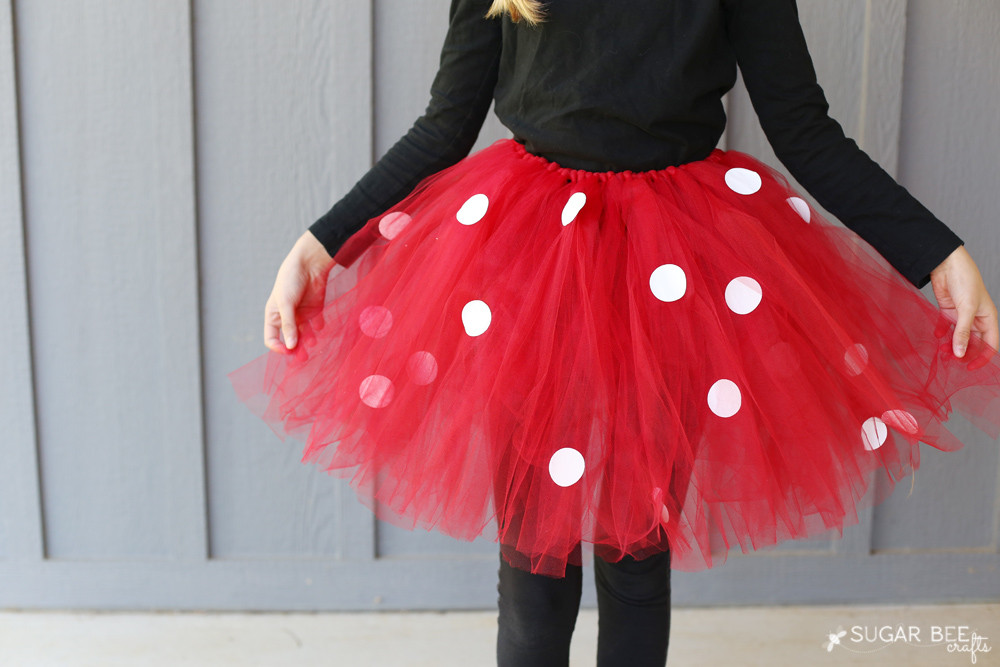 Best ideas about DIY Minnie Mouse Costume . Save or Pin DIY Minnie Mouse Costume yep NO sew Sugar Bee Crafts Now.