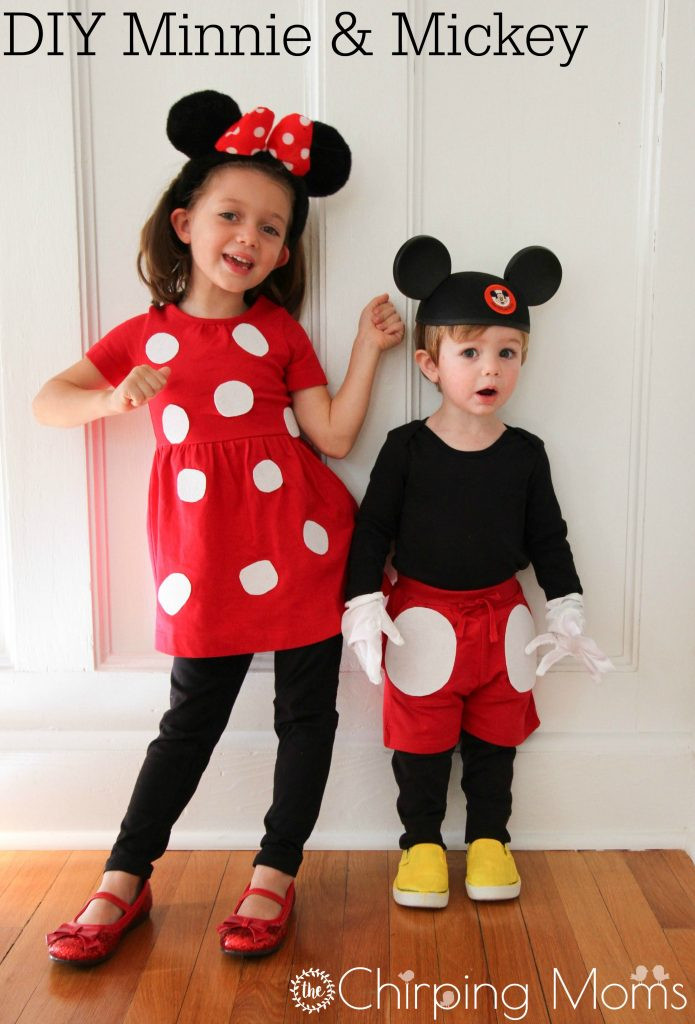 Best ideas about DIY Minnie Mouse Costume . Save or Pin Easy DIY Mickey & Pals Costumes The Chirping Moms Now.