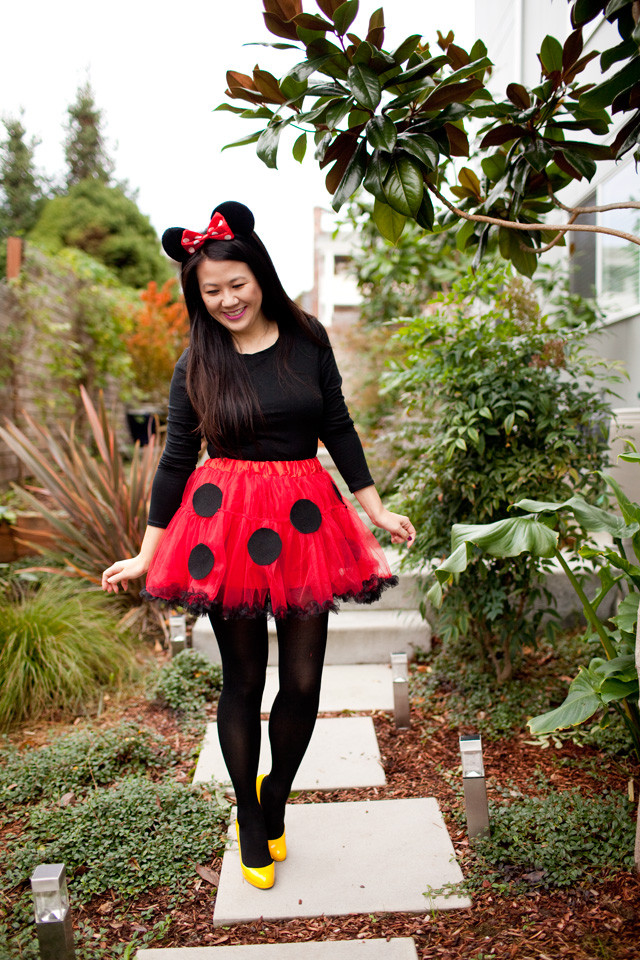 Best ideas about DIY Minnie Mouse Costume . Save or Pin DIY Minnie Mouse Costume Now.