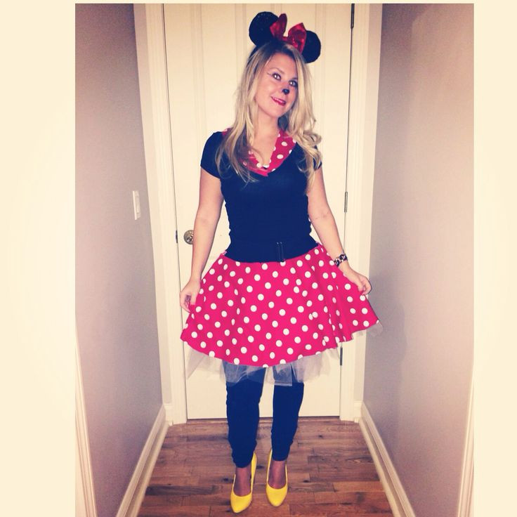Best ideas about DIY Minnie Mouse Costume . Save or Pin DIY Minnie Mouse Costume – TaraMarie ♥Foo ♥Fashionista Now.