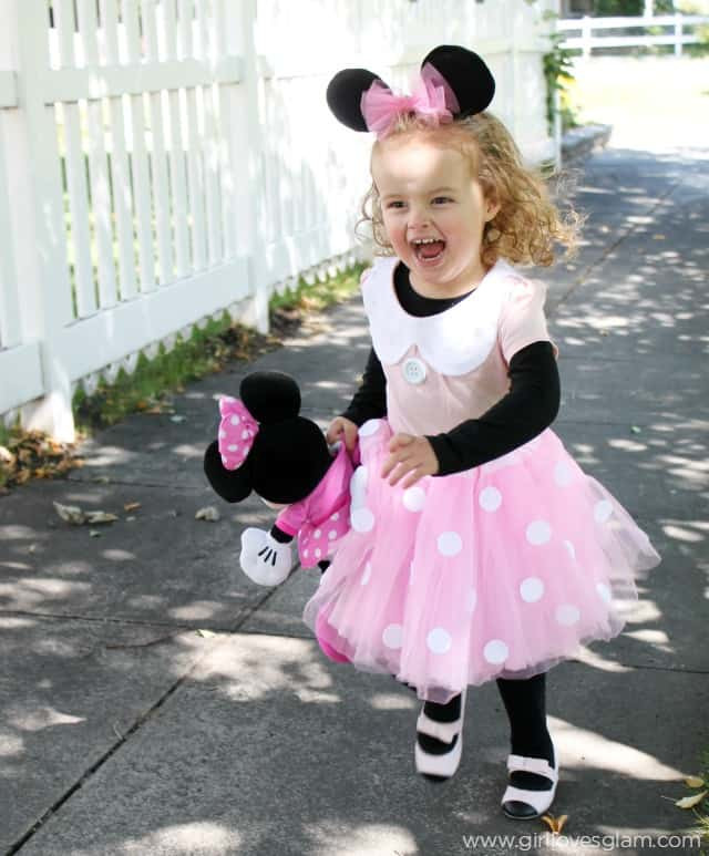 Best ideas about DIY Minnie Mouse Costume . Save or Pin DIY No Sew Minnie Mouse Costume Girl Loves Glam Now.