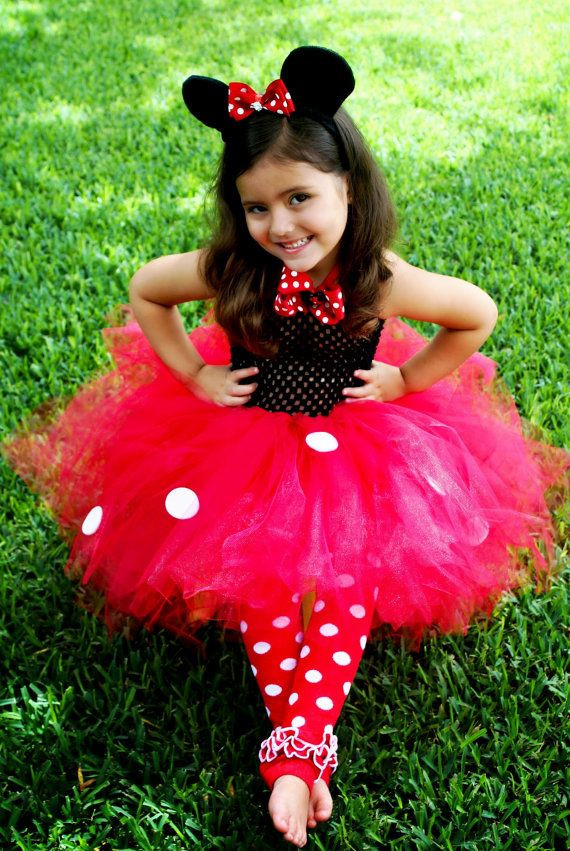 Best ideas about DIY Minnie Mouse Costume Tutu . Save or Pin Minnie Mouse Tutu Dress Costume and Matching Ears by Now.