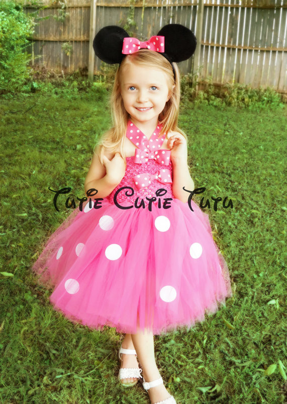 Best ideas about DIY Minnie Mouse Costume Tutu . Save or Pin Minnie Mouse Costume Tutu Dress Now.