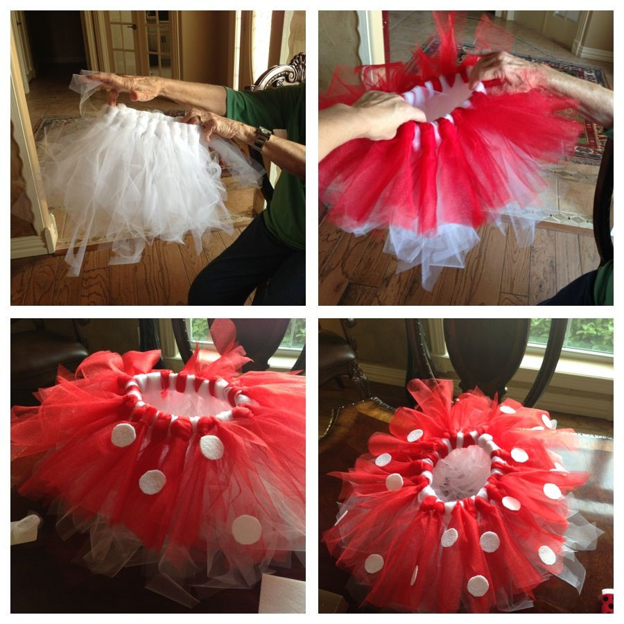 Best ideas about DIY Minnie Mouse Costume Tutu . Save or Pin Minnie Mouse TuTu Very simple no sew Headband waist Now.