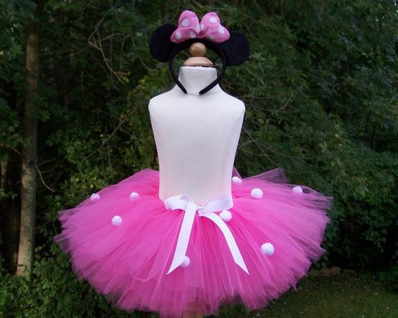 Best ideas about DIY Minnie Mouse Costume Tutu . Save or Pin DIY Pink Minnie Mouse Tutu Halloween or Disney by Now.