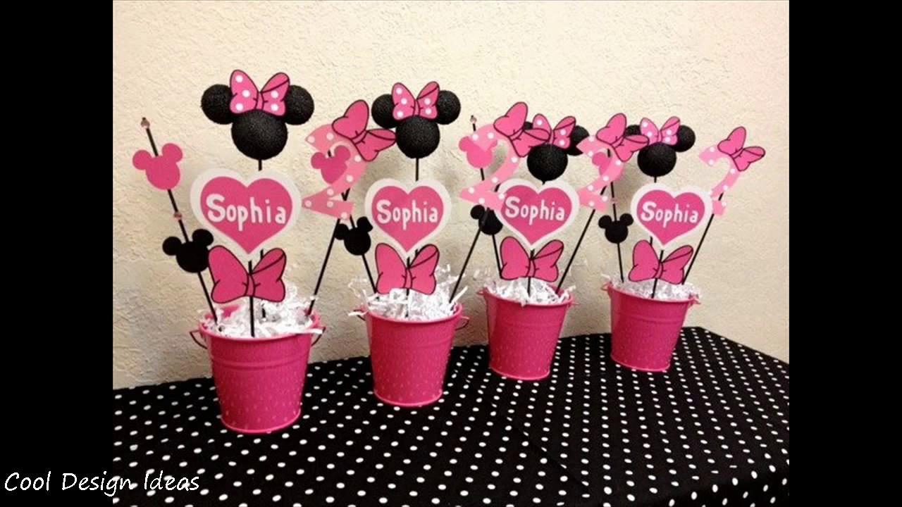 Best ideas about DIY Minnie Mouse Decorations . Save or Pin DIY Minnie Mouse Party Decorations Ideas Now.
