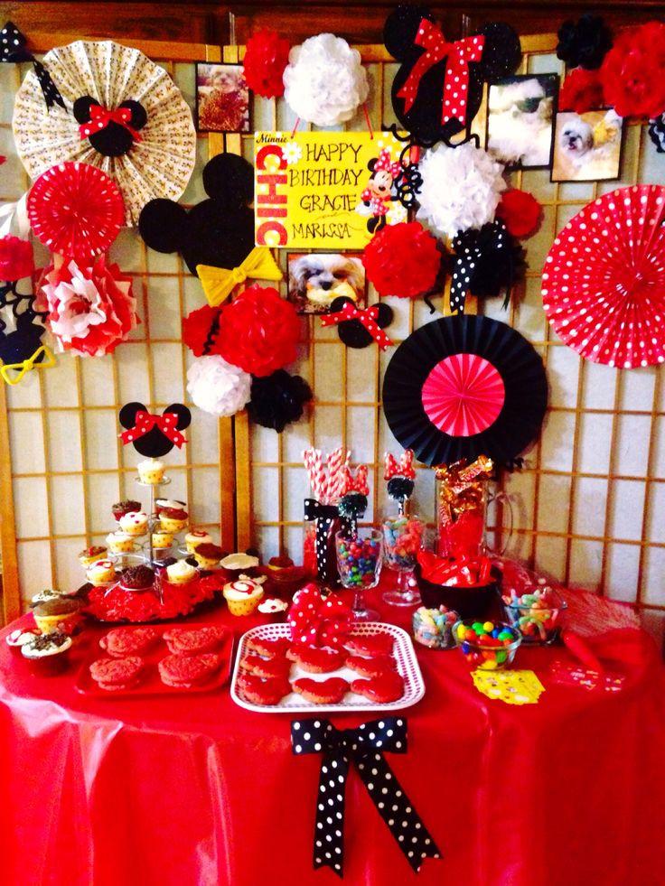 Best ideas about DIY Minnie Mouse Decorations . Save or Pin DIY Minnie Mouse party decorations Now.