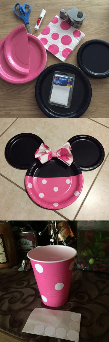 Best ideas about DIY Minnie Mouse Decorations . Save or Pin DIY Minnie Mouse Decor Now.