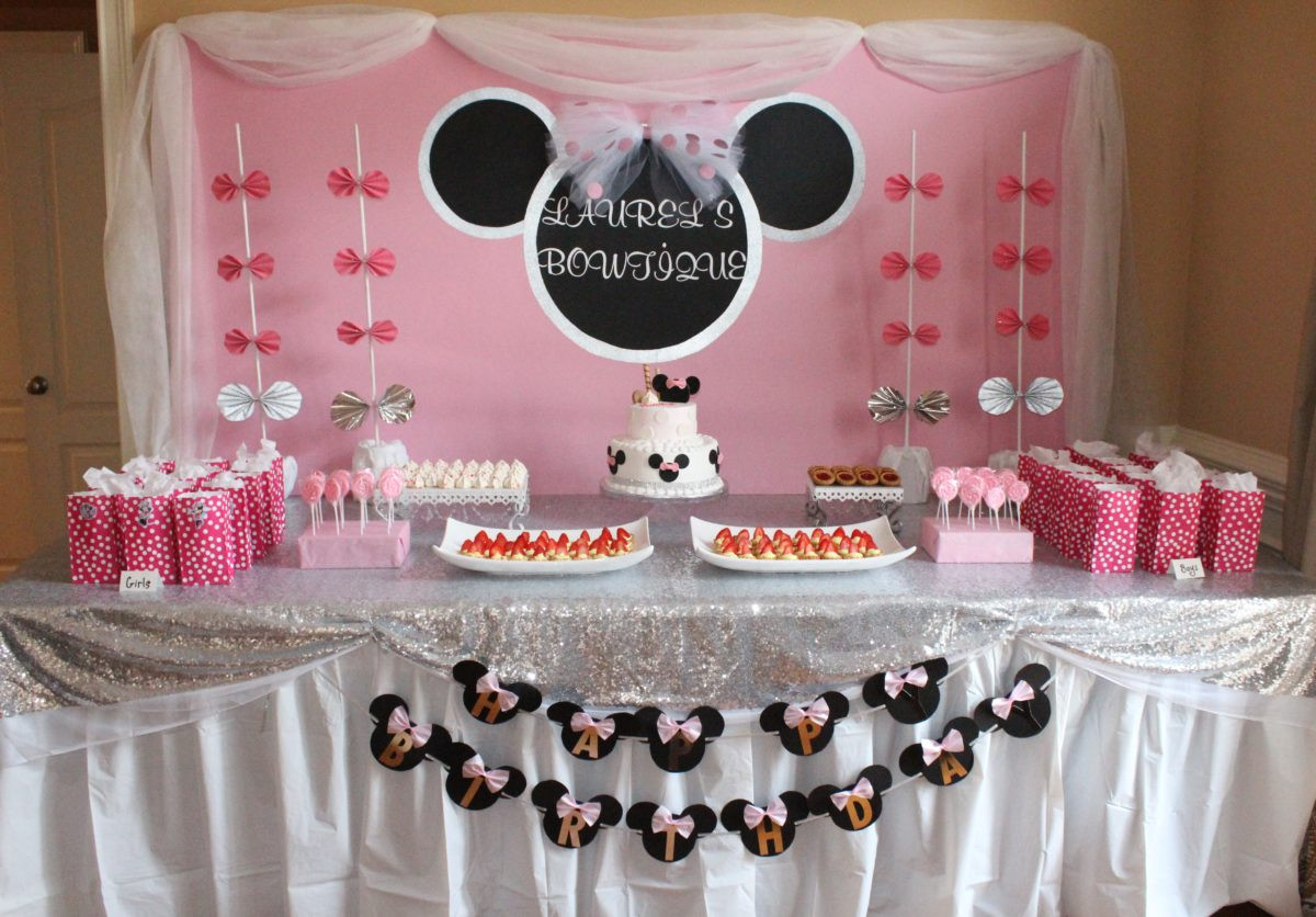 Best ideas about DIY Minnie Mouse Decorations . Save or Pin DIY Minnie Mouse Birthday Party DIY Bucket List Now.
