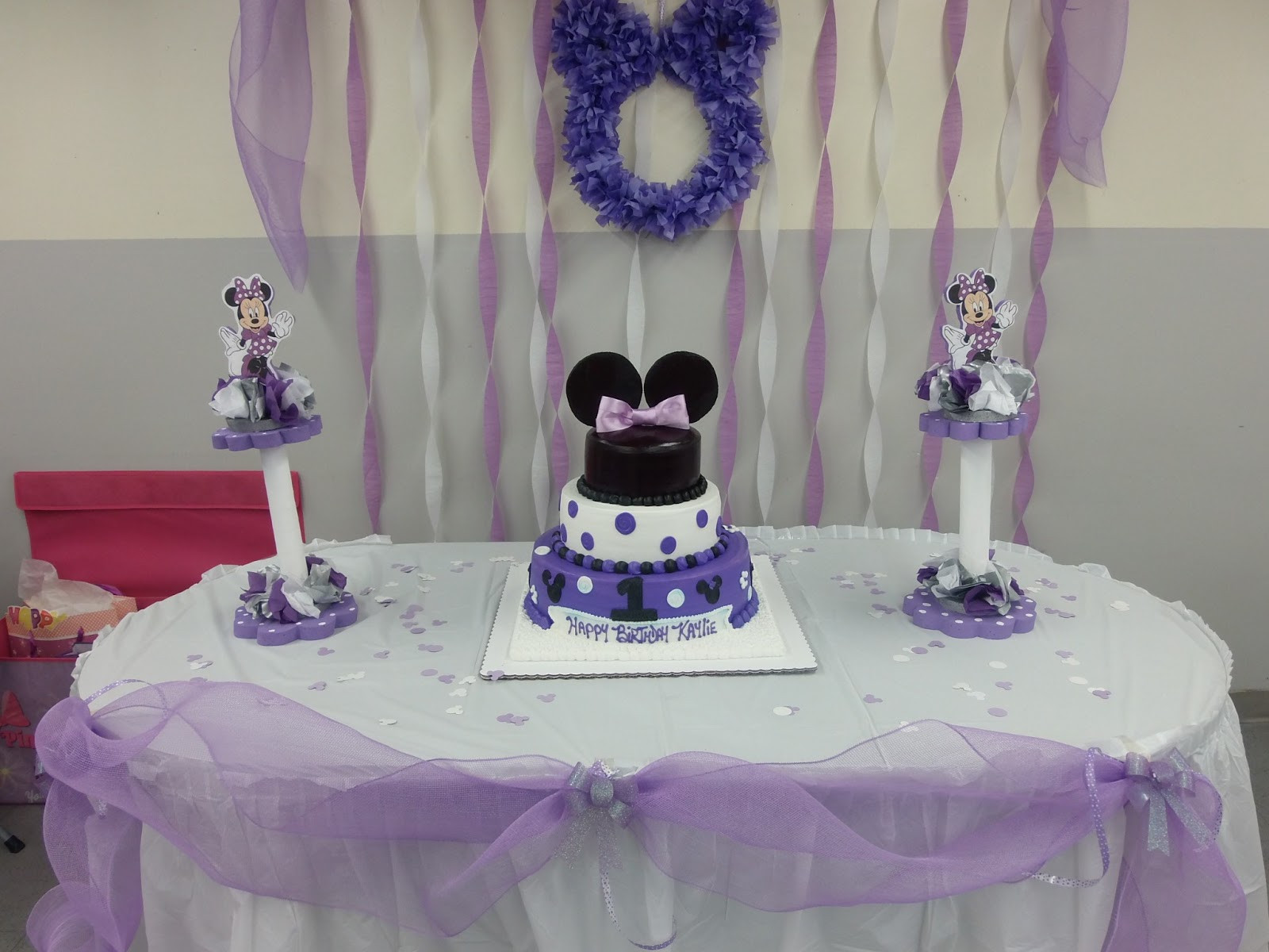 Best ideas about DIY Minnie Mouse Decorations . Save or Pin Living life backwards DIY Minnie Mouse decorations Now.