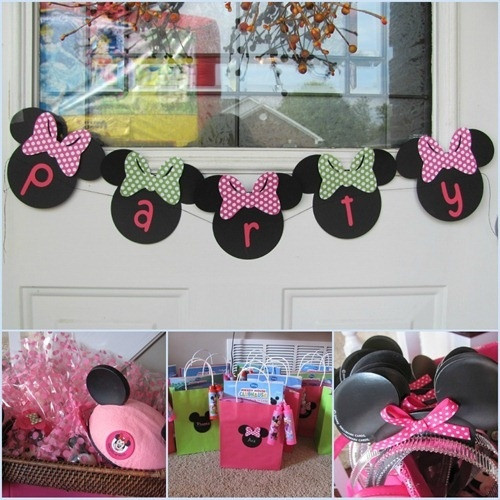 Best ideas about DIY Minnie Mouse Decorations . Save or Pin 75 Best images about First birthday ideas on Pinterest Now.