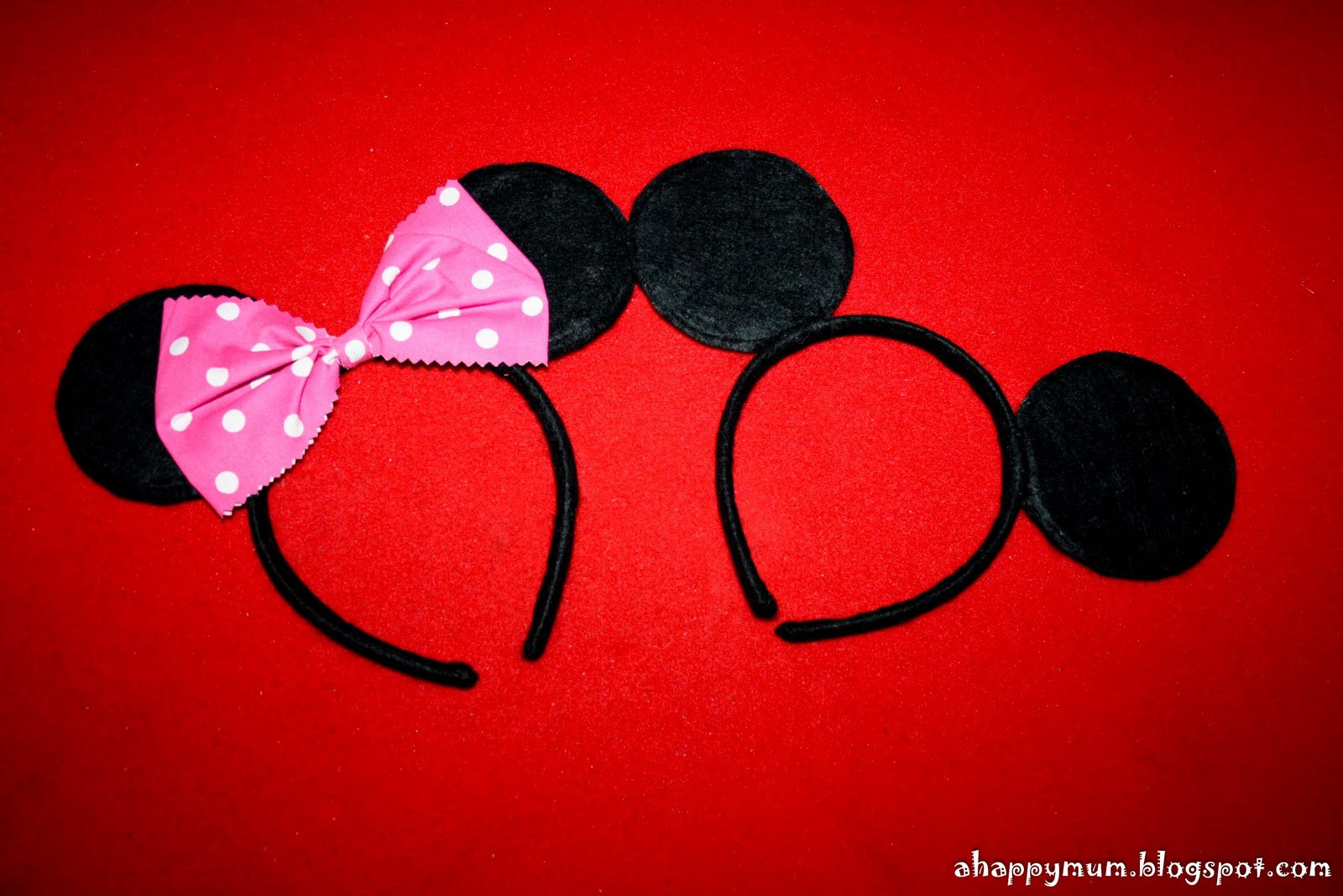 Best ideas about DIY Minnie Mouse Ears . Save or Pin A Happy Mum Now.