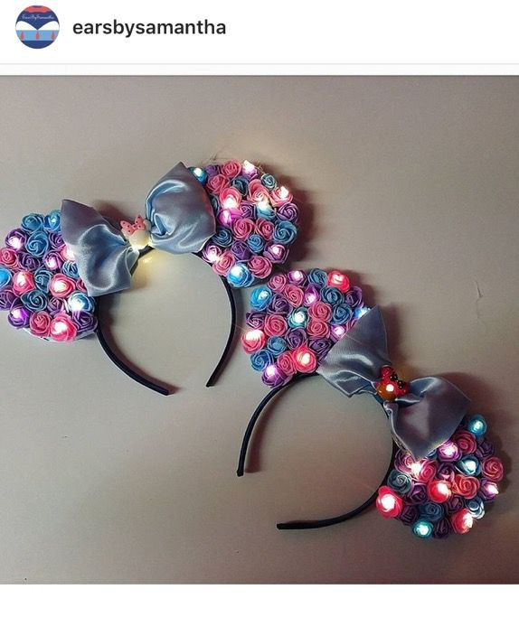 Best ideas about DIY Minnie Mouse Ears . Save or Pin DIY light up Minnie Mouse ears Disney Now.