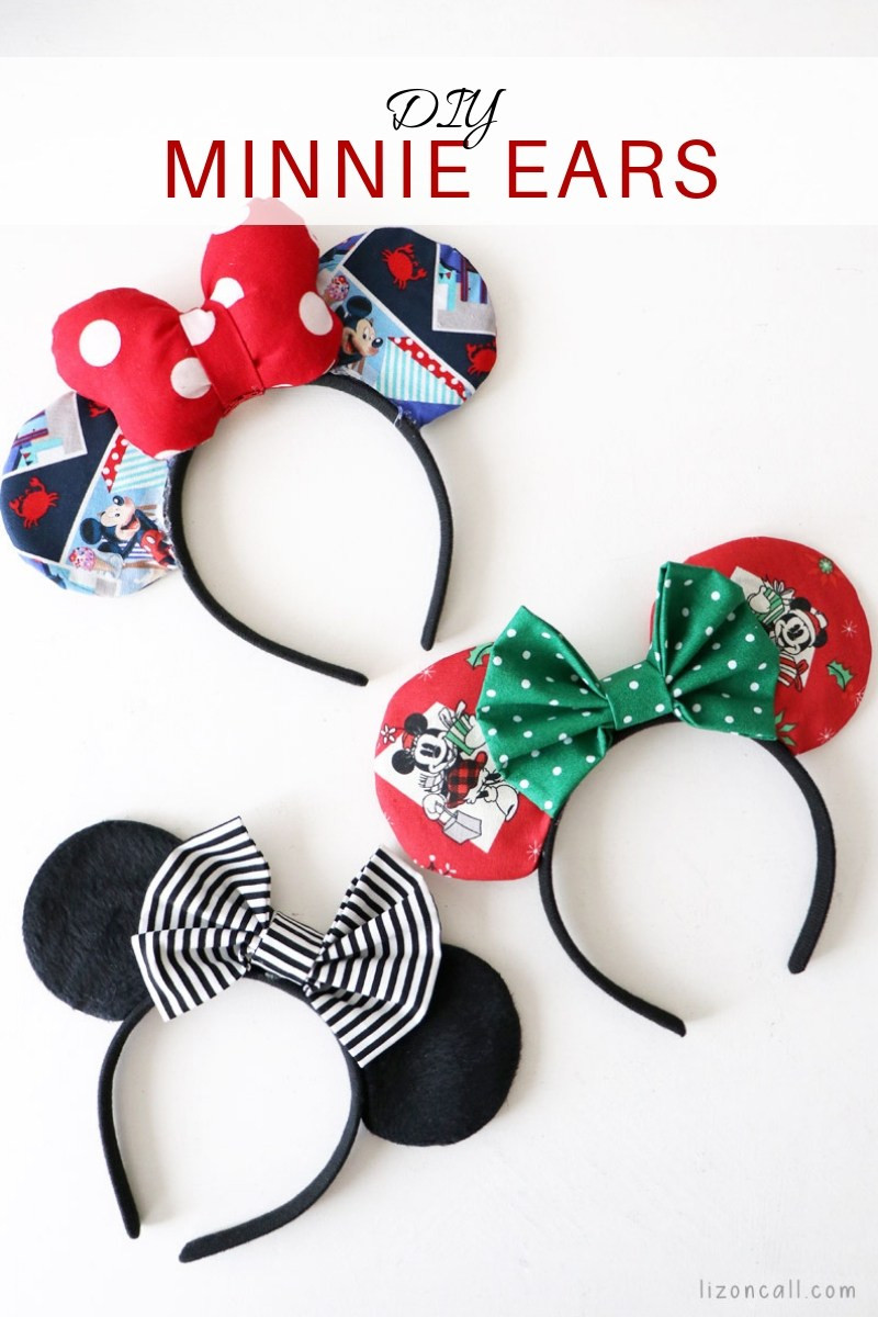 Best ideas about DIY Minnie Mouse Ears . Save or Pin DIY Minnie Mouse Ears Liz on Call Now.