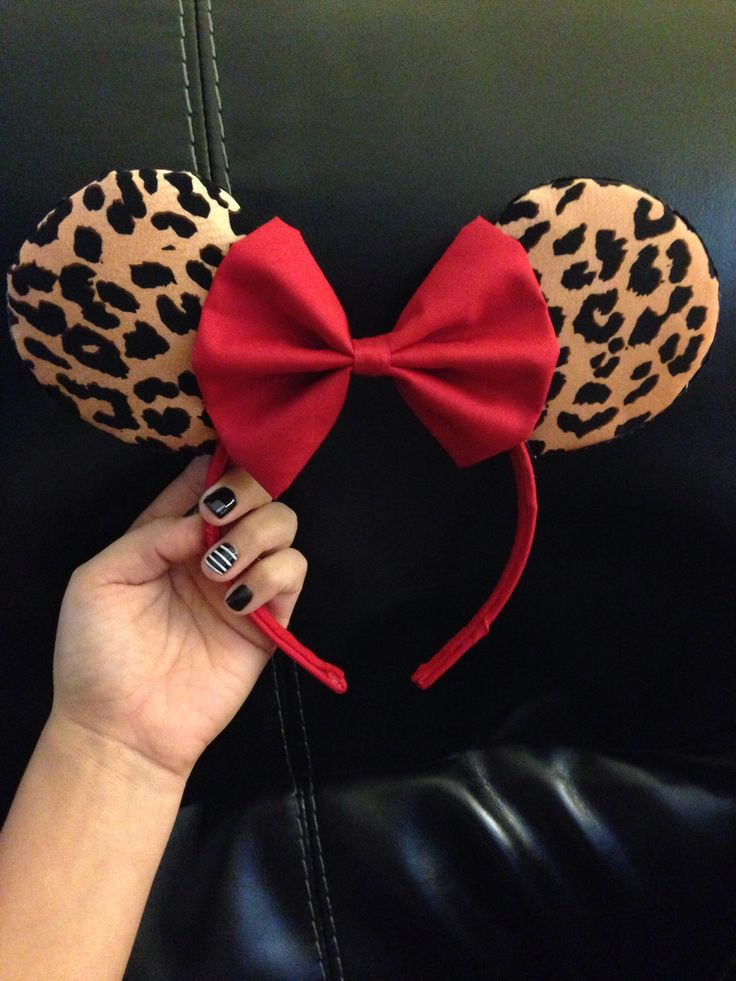 Best ideas about DIY Minnie Mouse Ears . Save or Pin Best 20 Cheetah crafts ideas on Pinterest Now.
