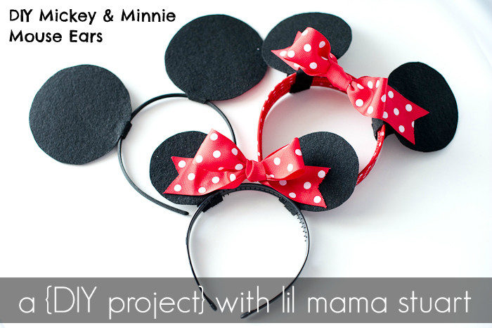 Best ideas about DIY Minnie Mouse Ears . Save or Pin a day with lil mama stuart DIY Mickey & Minnie Mouse Ears Now.