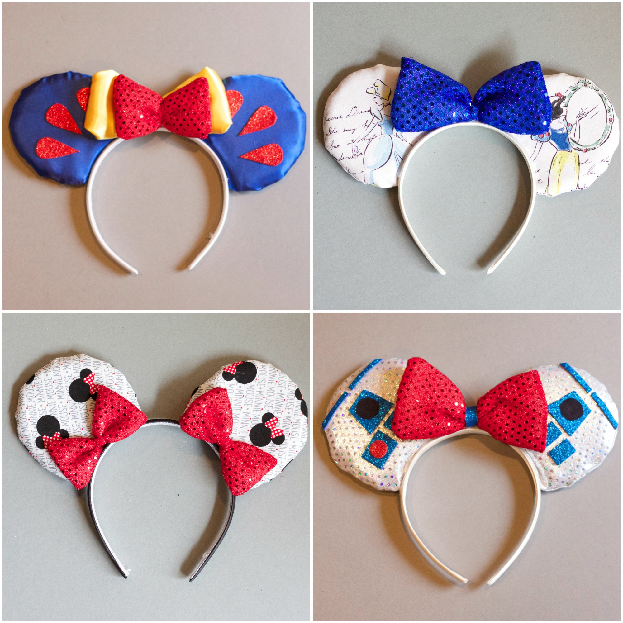 Best ideas about DIY Minnie Mouse Ears . Save or Pin DIY Disney Mickey Ears Houston Mommy and Lifestyle Now.